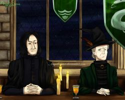 Slytherin Wins House Cup by Angel-soma