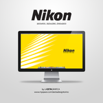 Wallpaper Nikon by redsoul90