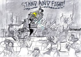 Stand and Fight by TheCommissarFangirl