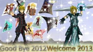 Good Bye 2012-Welcome 2013 by HensenFM