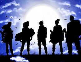 Naruto Group by harrykrizz
