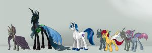 In Too Deep: Character Line-up by alorix