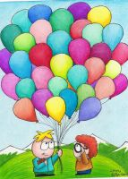 Balloon Bouquet by Lady-KL