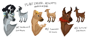 Flower Deer Adopts by ohsh
