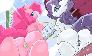 PONYBUTTS! by Imago-IC