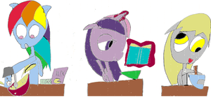Pony Baking Contest by MonstrousPegasister