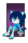 Tessa The Cat .:Art Trade:. by GamistTH