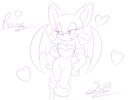 Rouge Sketch by Shadow4one