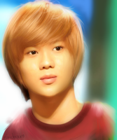 Painting My Biases  -- Taemin (SHINee) by ninetozero