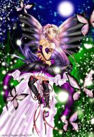 Beautiful Butterfly Fairy by powerfulgoddess