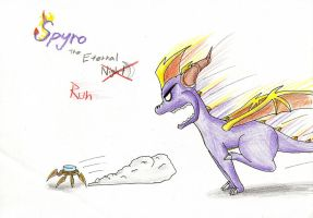 Spyro the Eternal Run by IcelectricSpyro