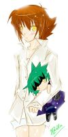Haou Judai with.. by Hazuha