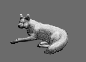 Vivicka (fox) -Realism Attempt by TheDragonInTheCenter