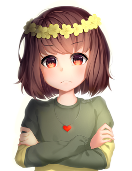 The flustered flower monarch by Sasoura