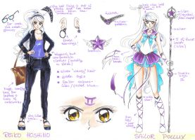 Reference Sheet: Sailor Pollux by MTToto