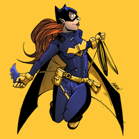 Batgirl Sketch Dailies by jUANy
