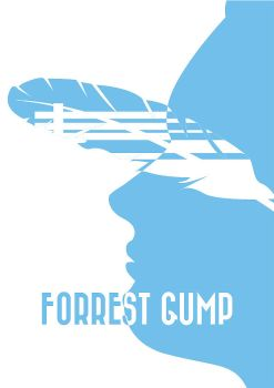 Forrest Gump Poster by GreenG