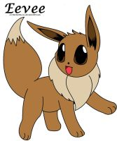 Eevee by keithyboo