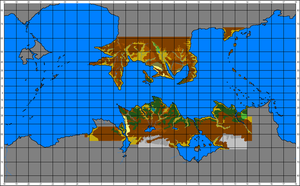 New Map Of Pern by AMCAlmaron
