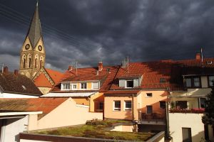 Storm Approaches a Heidelberg Home by abiogenic