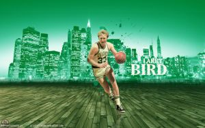 Larry Bird Wallpaper by lisong24kobe