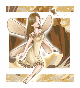 Sepia'd Fairy by torquoise