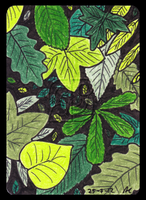 Leaves ACEO 04 by Siobhan68