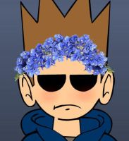 Flower Crown Tom by lillyhil