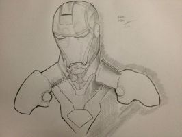 Iron Man Portrait by Arddy24