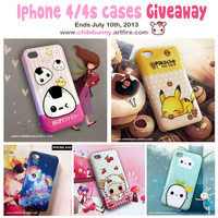 Cute Iphone 4/4s cases giveaway by tho-be