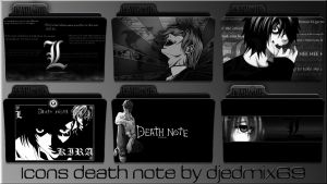 ICONS DEATH NOTE by djedmix69