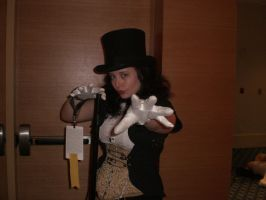 Zatanna Close up 1 Dragoncon by doctornocturne