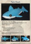 Palm Shark Plushie by Alphares