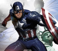 Captain America / Ryan Kesler by thepuckmonster