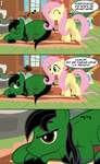 PonyChaos13 VS Fluttershy - 1 by PonyChaos13