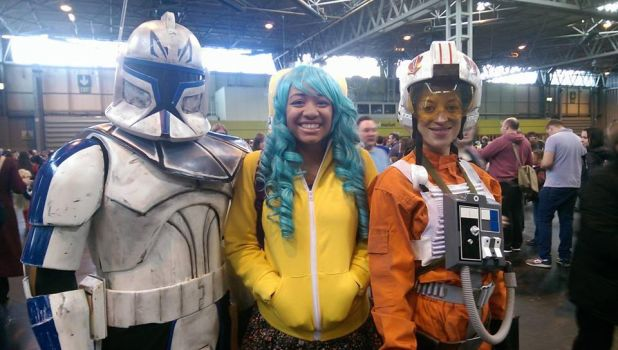 storm troopers though by mayahatsune