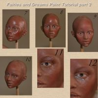 painting face tutorial part 6 by fairiesndreams