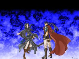 New Ike and Soren by Mate-of-Bardock