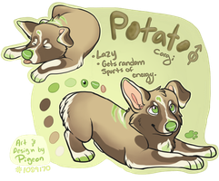 PA: Potato by onlyhalfpigeon