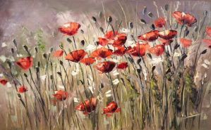 Sunny Poppies by Kasia1989
