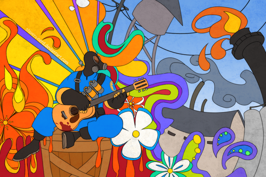 TF2. Flower People by midwaymilly
