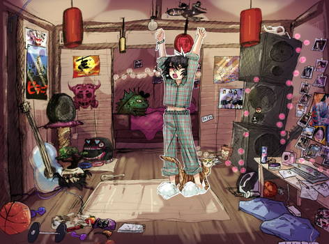 noodles room by omoulo