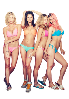 Spring Breakers - PNG/Render by tommz2011