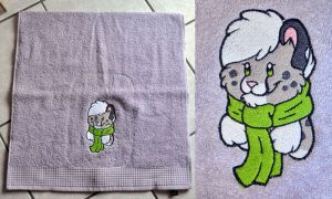 towel embroidery by Sethaa