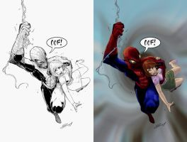Spiderman_Mary Jane by Bluseph