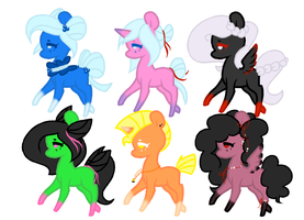 Mystery Bags Adopts (revealed) (4/6) by SmallSpiritGraphics