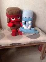 Ruby and Sapphire plushies by korilakkumacute