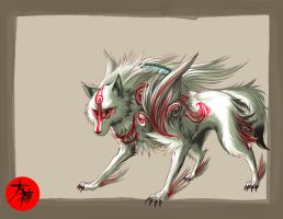 Amaterasu's glory2 by Zero-Zand