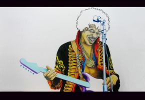 Jimmy Hendrix by koalacid
