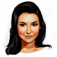 Naya Rivera by AmoonaSaohin